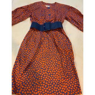 サンローラン(Saint Laurent)のサンローラン リヴゴーシュ  素敵なサマードレス  38(ひざ丈ワンピース)