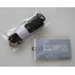 ディーゼル(DIESEL)のDIESEL ネックストラップ&カードケース(パスケース/IDカードホルダー)