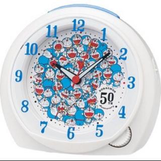 セイコー(SEIKO)の『ドラえもん』50周年記念の目覚まし時計(キャラクターグッズ)