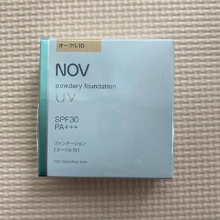 NOV - 【新品】NOV  ノブ  パウダリーファンデーション オークル10