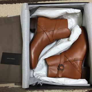 ボッテガヴェネタ(Bottega Veneta)の【新品:定価14万】ボッテガヴェネタ レザーブーツ BOTTEGAVENETA(ブーツ)
