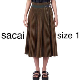 サカイ(sacai)のセール⭐︎ sacai  プリーツスカート サイズ 1(ロングスカート)