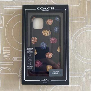 コーチ(COACH)のiPhone11用 COACH iPhoneケース 新品,未使用(iPhoneケース)