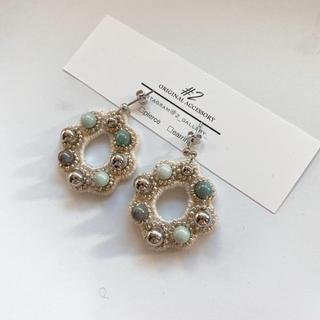 beads hoop(ピアス)