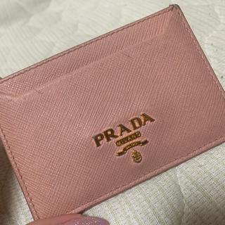 プラダ(PRADA)のパスケース(パスケース/IDカードホルダー)