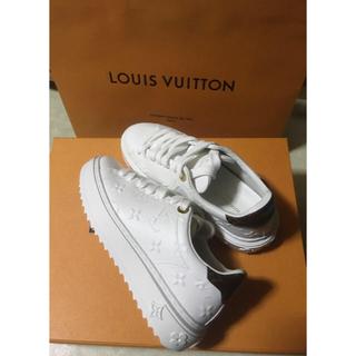 ルイヴィトン(LOUIS VUITTON)のルイヴィトン Louis Vuitton タイムアウトスニーカー レディース(スニーカー)