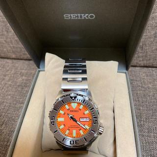 セイコー(SEIKO)の希少品 セイコー オレンジモンスター 海外モデル(腕時計(アナログ))