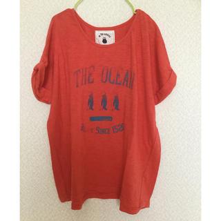 インザグルーヴ(in the groove)の赤のTシャツ インザグルーヴ(Tシャツ(半袖/袖なし))