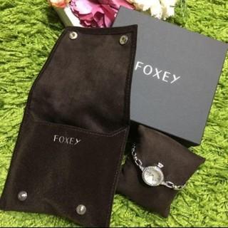 フォクシー(FOXEY)の新品フォクシー レディジュエルウォッチ(ブレスレット/バングル)