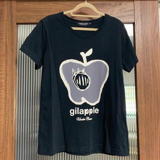 アンダーカバー(UNDERCOVER)のUNDERCOVER アンダーカバー gilapple Tee ギラップル 黒(Tシャツ(半袖/袖なし))