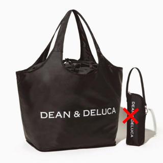 ディーンアンドデルーカ(DEAN & DELUCA)のDEAN & DELUCA  レジ かご 買物 バッグ 黒(エコバッグ)