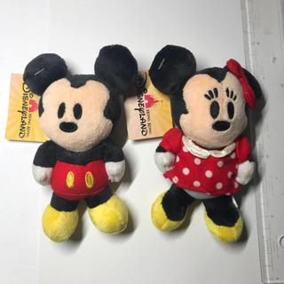 ディズニー(Disney)の香港ディズニーランド ミッキーミニー マグネットマスコット(キャラクターグッズ)