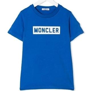 モンクレール(MONCLER)の新品◇モンクレール◆ロゴTシャツ◆12YRS◆大人OK◆キッズ◆ブルー◆152c(Tシャツ/カットソー)
