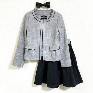 anyFAM - 【anyFAM Tiara】セット☆ ツイード ジャケット フレア スカート
