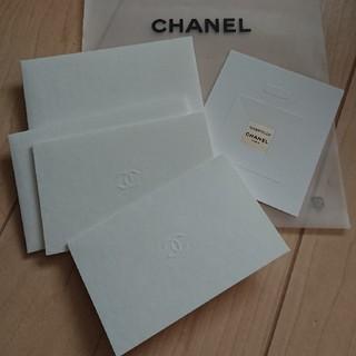 シャネル(CHANEL)のCHANEL メッセージカード(カード/レター/ラッピング)