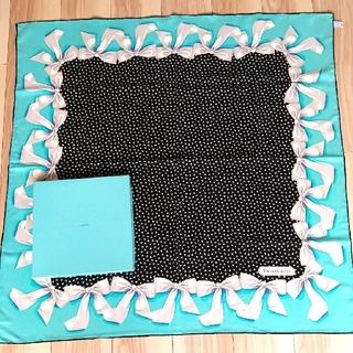 ティファニー(Tiffany & Co.)のティファニースカーフ、リボン柄(バンダナ/スカーフ)