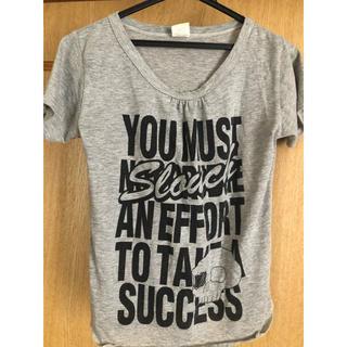 Tシャツ グレー(Tシャツ(半袖/袖なし))