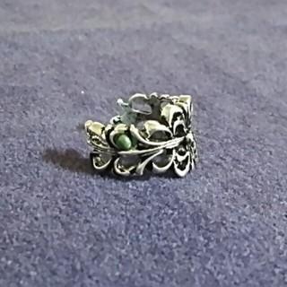 新品 シルバーのデザインリング(リング(指輪))