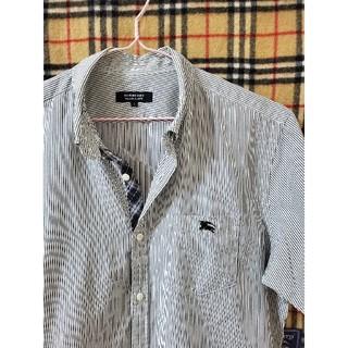 バーバリーブラックレーベル(BURBERRY BLACK LABEL)の【オススメ】ストライプシャツ(シャツ)
