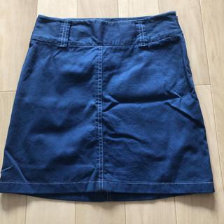 ドルチェアンドガッバーナ(DOLCE&GABBANA)のドルチェ&ガッバーナ ネイビースカート(ひざ丈スカート)