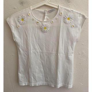 ドルチェアンドガッバーナ(DOLCE&GABBANA)のDOLCE&GABBANAドルチェ&ガッバーナ ノースリーブ シャツ 刺繍(シャツ/ブラウス(半袖/袖なし))