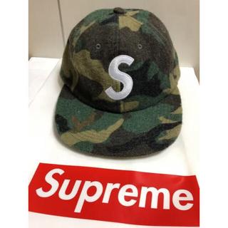 シュプリーム(Supreme)のSupreme CAP シュプリーム S LOGO 6 Panel迷彩 キャップ(キャップ)