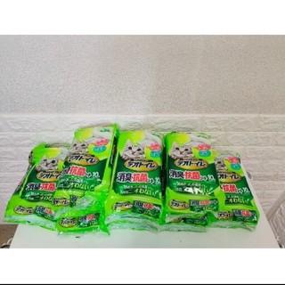 ユニチャーム(Unicharm)のデオトイレ消臭抗菌シート10枚入×8袋(猫)