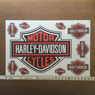 ハーレーダビッドソン(Harley Davidson)のハーレーダビットソン Harley-Davidson ステッカー シート(ステッカー)