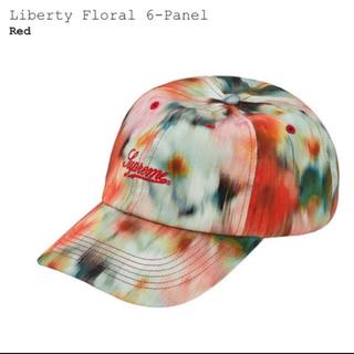 シュプリーム(Supreme)のsupreme liberty floral 6-panel cap Red(キャップ)