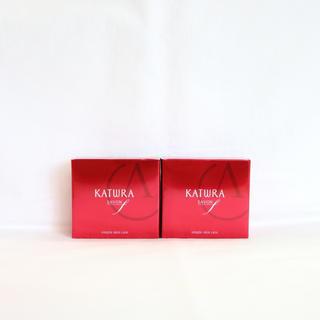 カツウラケショウヒン(KATWRA(カツウラ化粧品))の新品【2個セット】カツウラ化粧品 サボン エフ (石けん) 60g(洗顔料)