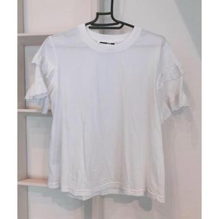 アレキサンダーマックイーン(Alexander McQueen)の新品 アレキサンダーマックイーントップス(Tシャツ(半袖/袖なし))