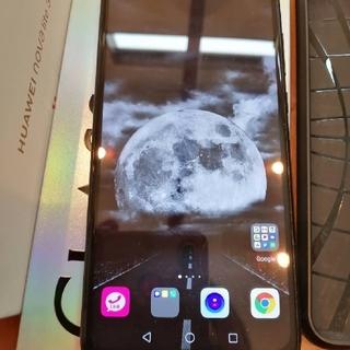 アンドロイド(ANDROID)のHUAWEI nova lite 3 ミッドナイトブラック 32 GB(スマートフォン本体)