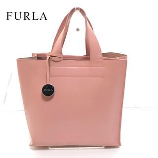 フルラ(Furla)のFURLA フルラ トートバッグ ハンドバッグ ピンク レザー レディース(ハンドバッグ)
