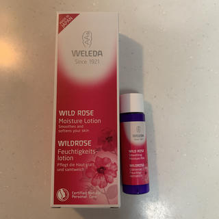 ヴェレダ(WELEDA)のヴェレダ ワイルドローズモイスチャーローション+乳液(化粧水/ローション)