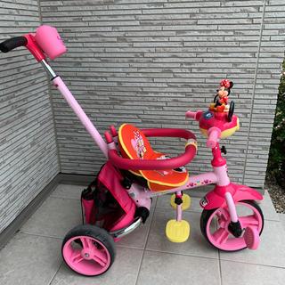 ディズニー(Disney)のミニーマウス三輪車(三輪車)