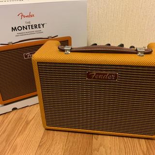 フェンダー(Fender)のFender MONTEREY bluetooth スピーカー Tweed(スピーカー)