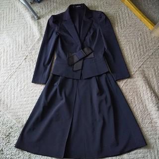 フォクシー(FOXEY)のFOXEY 紺色スーツ(スーツ)