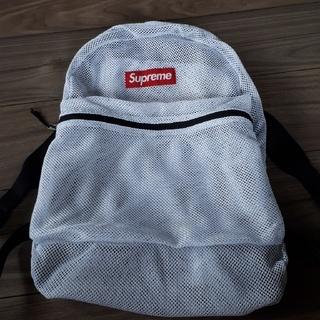 シュプリーム(Supreme)のひゃん様専用 Supreme mesh backpack white(バッグパック/リュック)