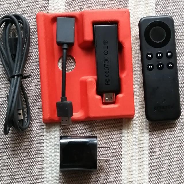 Fire TV Stick スマホ/家電/カメラのテレビ/映像機器(映像用ケーブル)の商品写真