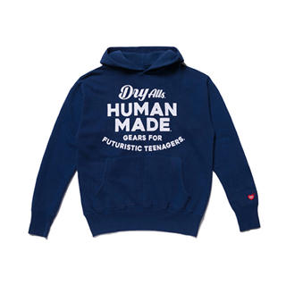 A BATHING APE - HUMAN MADE スエット パーカー L