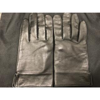 バーバリー(BURBERRY)のバーバリー 革 手袋 Burberry(手袋)