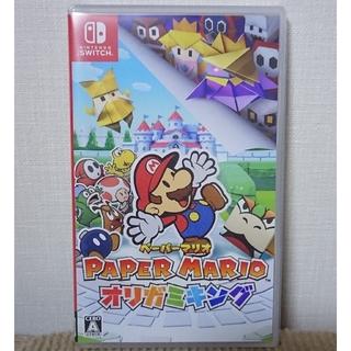 ニンテンドースイッチ(Nintendo Switch)のペーパーマリオ オリガミキング switch ソフト(家庭用ゲームソフト)