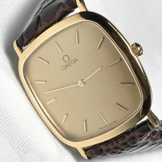オメガ(OMEGA)の美品★【OMEGA オメガ】デビル  アンティーク腕時計 クオーツ(腕時計(アナログ))