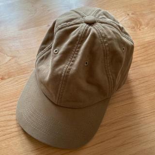 ユニクロ(UNIQLO)のユニクロ 帽子 キャップ ベージュ 男女兼用(キャップ)