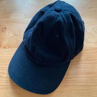 ユニクロ(UNIQLO)の男女兼用 キャップ 帽子 ユニクロ ネイビー(キャップ)