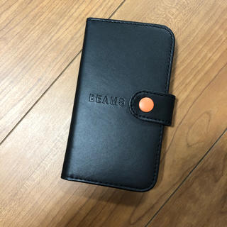 ビームス(BEAMS)のスマートフォンケース BEAMS ブラック 雑誌付録(iPhoneケース)