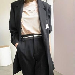 アメリヴィンテージ(Ameri VINTAGE)の新品タグ付 BACK SIDE JACKET 黒 M アメリ(テーラードジャケット)