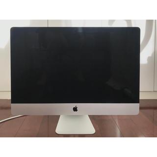 マック(Mac (Apple))のiMac (Retina 5K, 27-inch, Late 2014)(デスクトップ型PC)