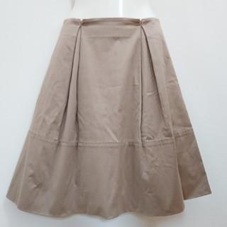 アンナモリナーリ(ANNA MOLINARI)のアンナモリナーリ フレアスカート 立体スカート タックスカート 送料無料(ひざ丈スカート)