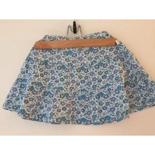 アニエスベー(agnes b.)のアニエスベー 可愛い花柄のスカート 4ans(スカート)